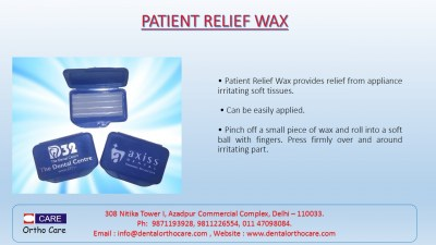 Patient Relief Wax 1